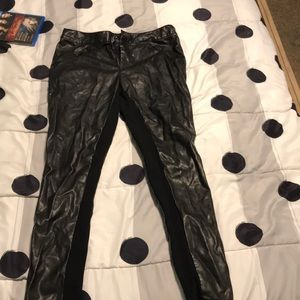 Pants - Forever 21 leather pants